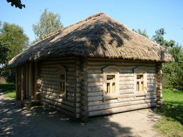 домик во дворе дома Есениных