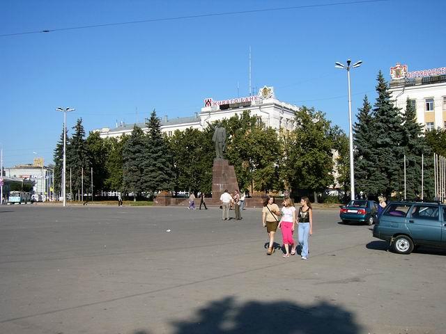 площадь Ленина - центр Рязани