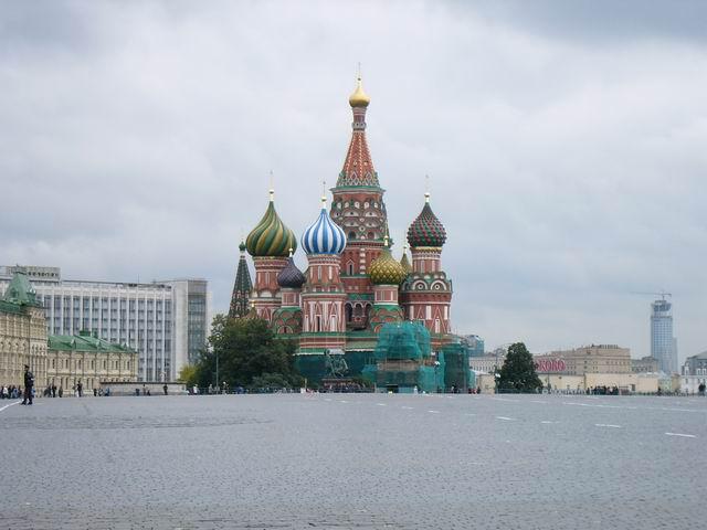 собор Василия Блаженного и Красная площадь