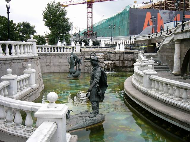 сказочные персонажи в воде