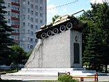 памятник Тамбовский колхозник (танк)