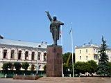 памятника В.И. Ленину на площади Ленина