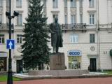 A monument of Maxim Gorky