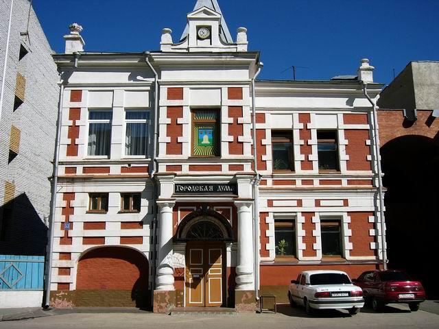 фото здания городской думы Тамбова