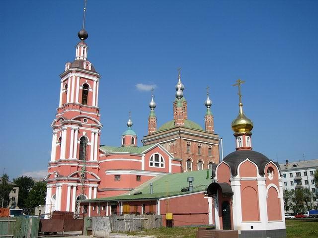 Николо-Ямской храм