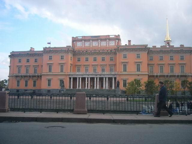 Михайловский замок (он же Инженерный замок), место убийства императора Павла 1