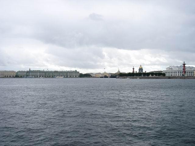 вид на реку Нева