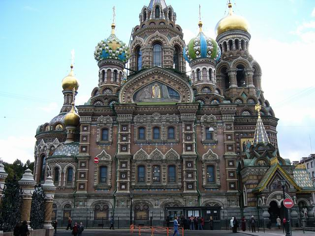 собор Спас на крови - место убийства русского царя Александра 2-го