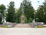 A monument of Zoya Kosmodemjanskaya