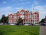 A former hospital building