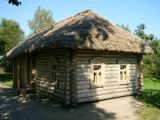 A small house in the court-yard of the house of the Esenin