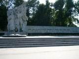 A monument of the war participants