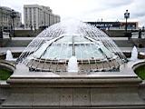 a small fountain