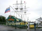 The Zabava restaurant at the ship